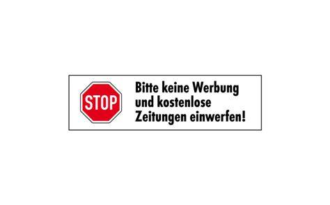 Aufkleber Keine Werbung Wo Kaufen by Stop Keine Werbung Aufkleber 1 Kaufen 187 Wezet