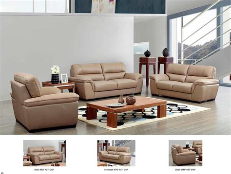 Beige Leather Sofa Ef052 Leather Sofas Beige Leather Sectional Sofa