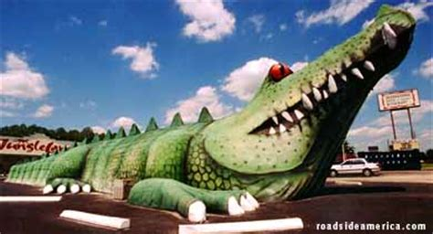 second largest gator ever built (gone), kissimmee, florida