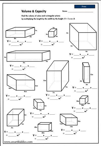 math worksheets volume 4th grade homeshealth info
