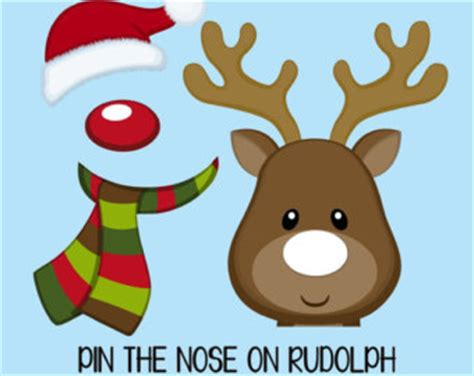 pin the nose on rudolph template top 10 and ideas that everyone will