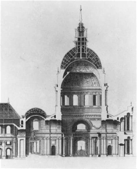 domed section of a church a a section st louis des invalides