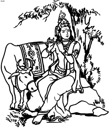 Outline Pictures Of God Krishna by Hindu God Coloring Book Hindu God Coloring Pages Hindu God Top Az Coloring Pages