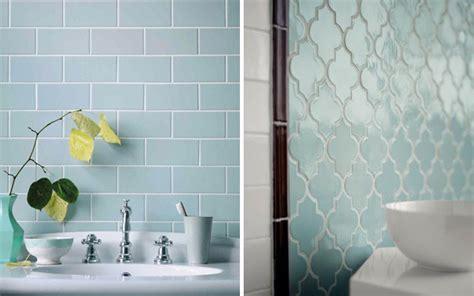 Piastrelle Bagno Mosaico Azzurro by Si Fa Presto A Dire Rosa Quarzo E Azzurro Serenity