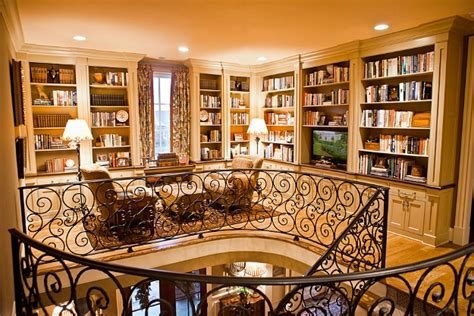 upstairs house an upstairs landing becomes a book lover s library