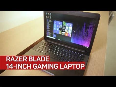 razer blade 14 inch gaming laptop youtube
