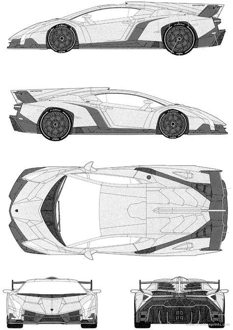 blueprints gt cars gt lamborghini gt lamborghini aventador lamborghini veneno 2013 png png image 752 215 1066 pixels blue print