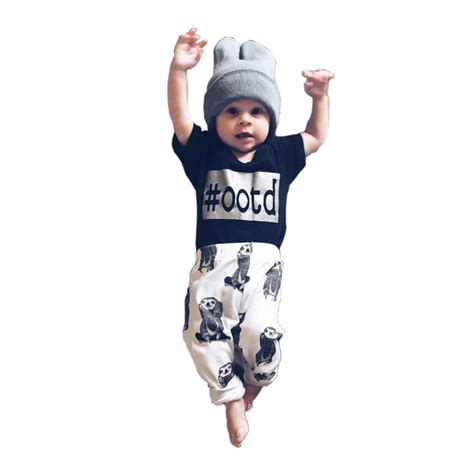 summer new 2016 baby boy clothes high quality casual