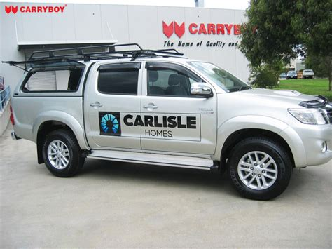 Toyota Ute Canopy Toyota Hilux Sr5 Carryboy Fiberglass Canopies
