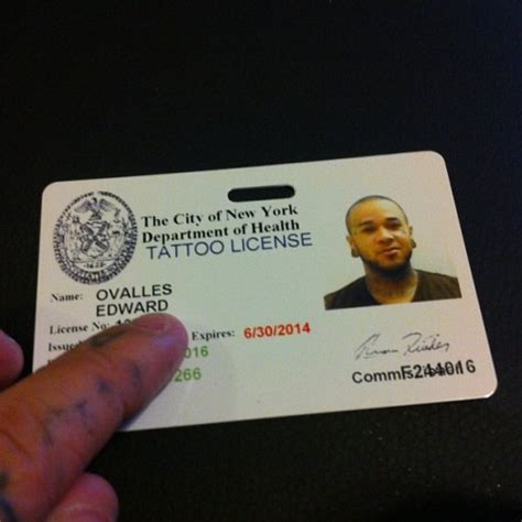 Nyc Tattoo Artist License | most famous tattoo artists in the us tattoo license ny