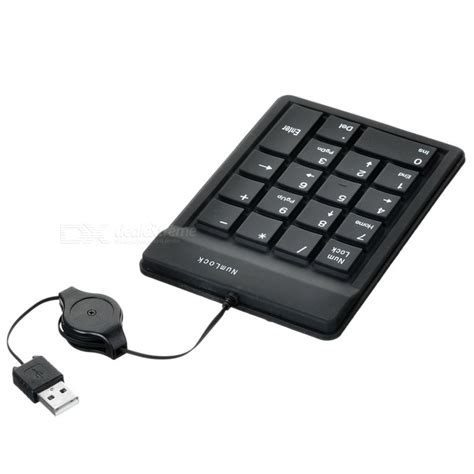 Numpad Usb silicone usb 18 key numeric keypad numpad for laptop