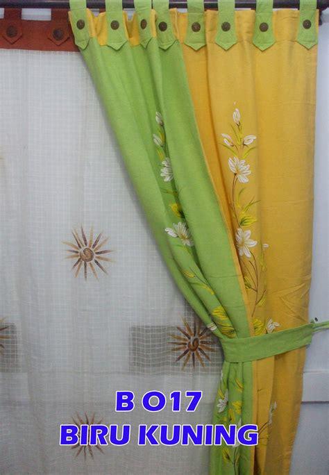 Gorden Atbm grosir tenun atbm warna cerah dengan harga murah gorden dan tirai fitras atbm