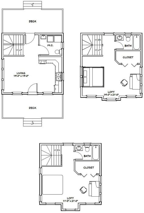 excellent house plans tiny house h23c sq ft excellent floor plans 1067 best images about tiny houses on pinterest tiny