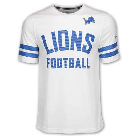 T Shirt 6 0 Nike 1 Years Product detroit lions white stadium football jersey t shirt by