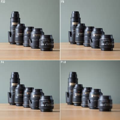 the delights of seeing: depth of field maximum