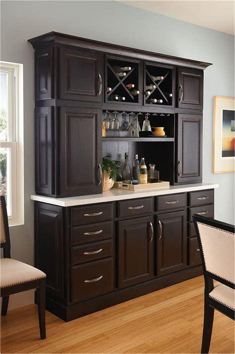 bar hutch wooden kitchen hutch cabinets buffets interior design ideas