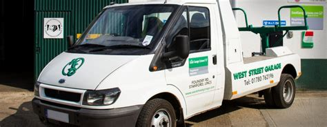 West Garage Stamford by Vehicle Recovery Services In Stamford Lincolnshire West