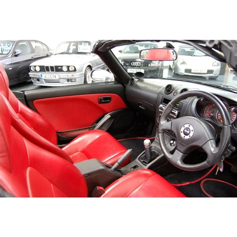 Daihatsu Copen 2dr Red Leather Full Daihatsu Service