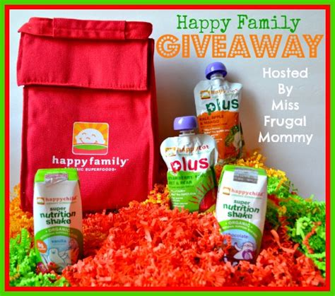 Pack Giveaway - happy family prize pack giveaway