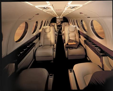 King Air 350 Interior by Jet Charter Flights And Charter