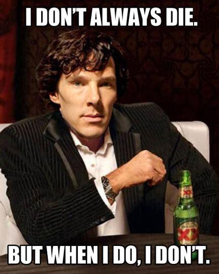 Funny Sherlock Memes - the sherlock way the meta picture