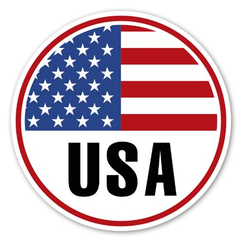 Sticker Wall Paper usa round flag sticker stickerapp