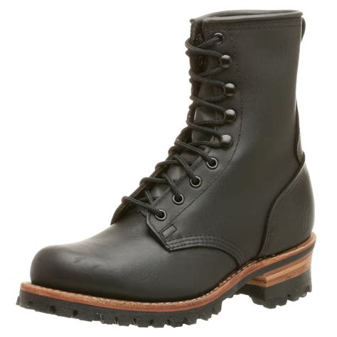 frye mens sneakers frye frye mens logger 8 g boot in black for lyst