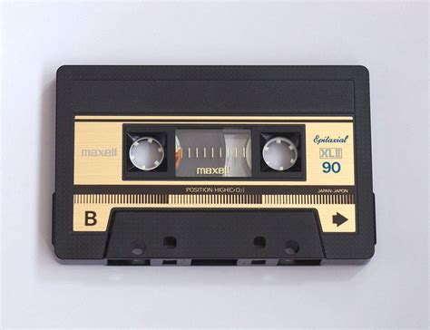 maxell audio cassette maxell xlii 90 early 80 s by mr cassettes on 500px
