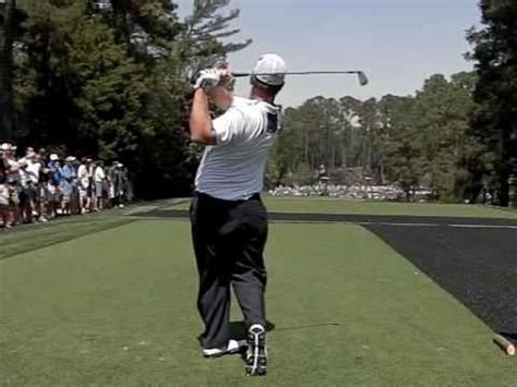 david duval golf swing david duval swing down the line youtube