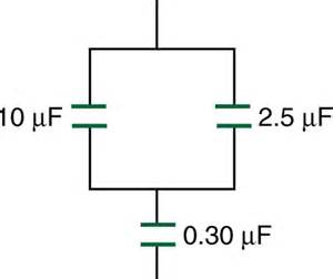 college physics capacitors in series and parallel voer