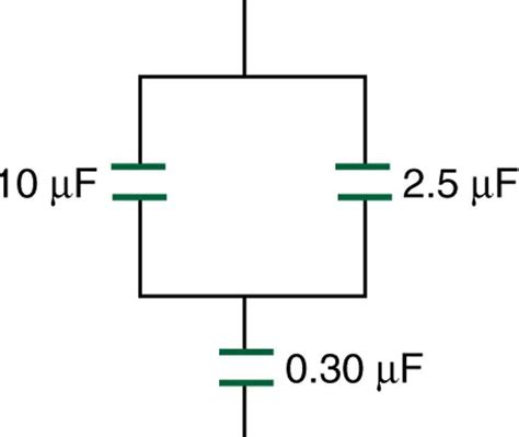 capacitor mfd symbol capacitors in series and parallel 183 physics