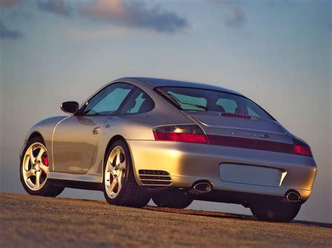 2002 porsche 911 4s 2002 porsche 911 4s silver rear angle 1024x768