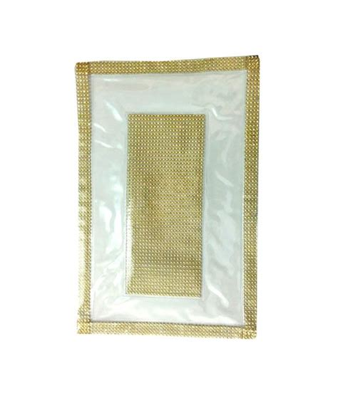 Plastic Table Mat by Arow Plastic Table Mat With Golden Border Buy