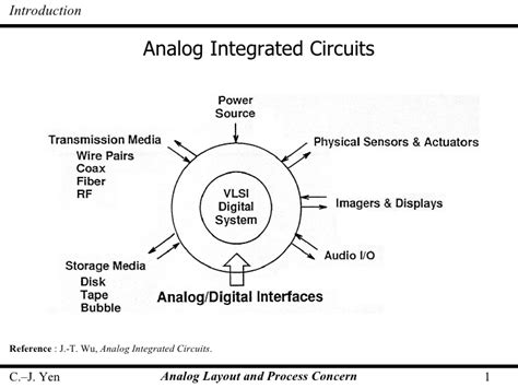 analog integrated circuit design allen lect10 analog layout and process concern