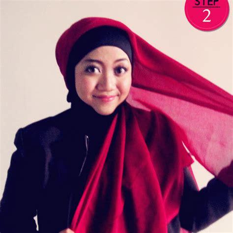 Beda Dengan Jilbab cara memakai jilbab modern simple