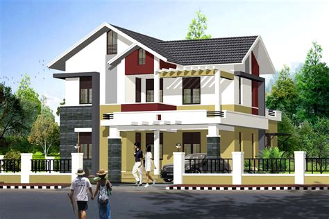 sq ft simple budget indian home exterior design