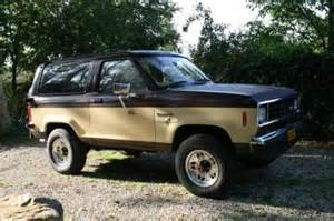Used Cars Usa Oldtimers 1984 Ford Usa Bronco Ii 4x4 Automaat Nr1 Oldtimers