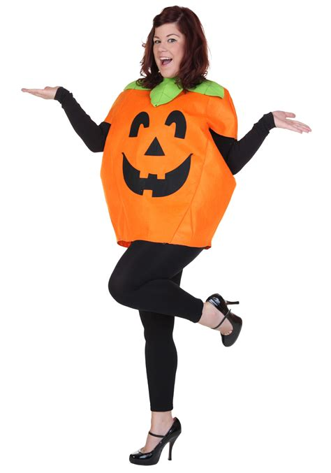 how to dress up as a pumpkin for classic pumpkin costume