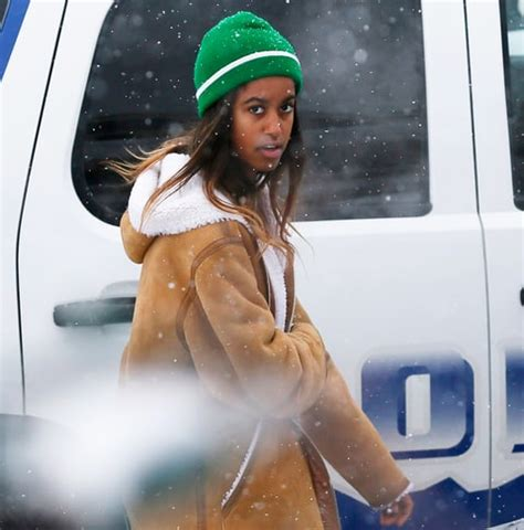 malia obama spotted at sundance film festival with
