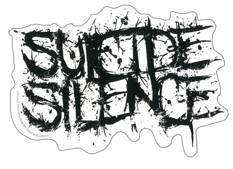 silence logo sticker buy at grindstore