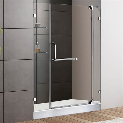 Bathroom Shower Doors Frameless Frameless Shower Door 48 Inch Wide Useful Reviews Of Shower Stalls Enclosure Bathtubs And