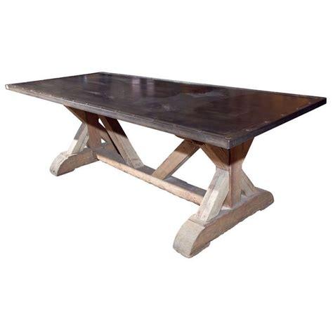 steel top dining table steel top dining table dining tables ideas