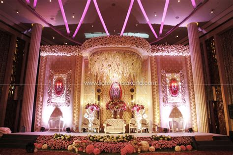 wedding hendra indah at grand grasida dekorasi lightworks