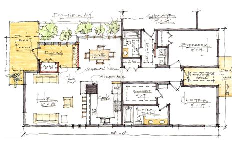 residence floor plans a modern craftsman home architecture design san