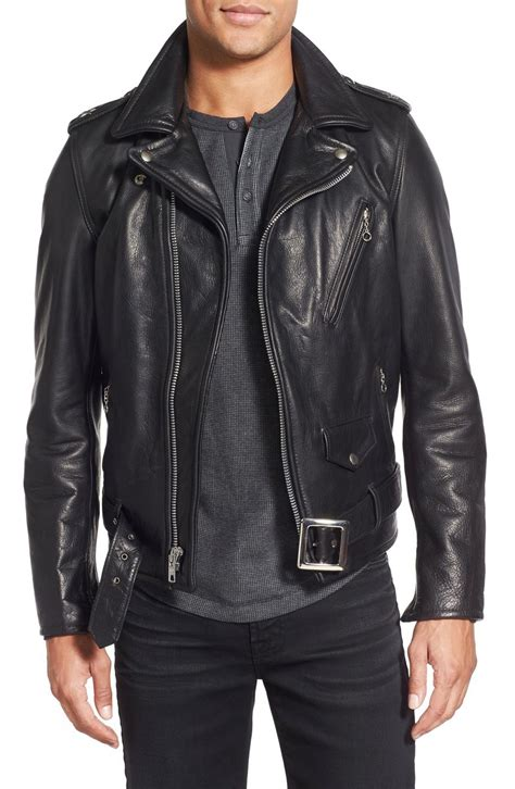 Handmade Jackets - handmade motorcycle genuine leather jacket new black