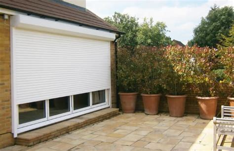 Security Shutters For Patio Doors Rsg5100 Roller Shutters Aluminium Continental Security Shutters