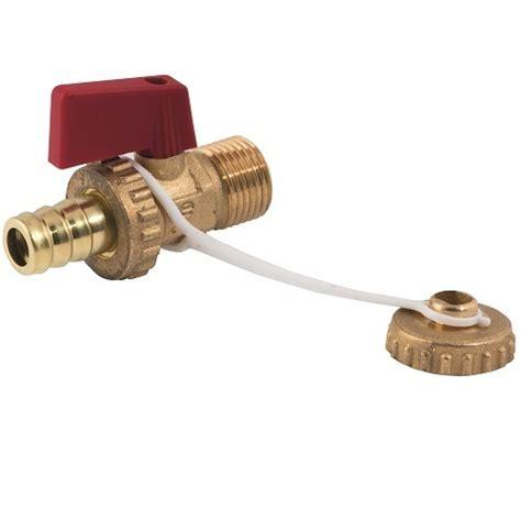 rubinetto acqua caldaia rubinetto a sfera scarico caldaia con tappo e portagomma