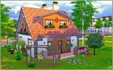 my dreamhouse the sims 4 house building w the sims 4 little dream no cc homeless sims