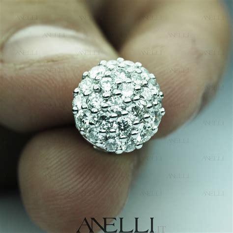 pave di diamanti anelli orecchini pav 232 di diamanti