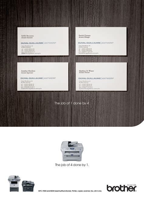 brothers business card template business cards adeevee